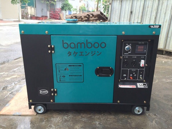 Picture Máy phát điện diessel BamBoo 9800ET (7.5KW)
