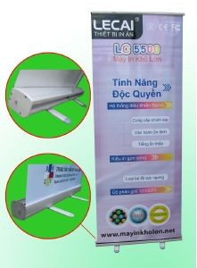 Picture Banner cuốn nhôm một mặt poster GCN801 (kt 80x200 cm)