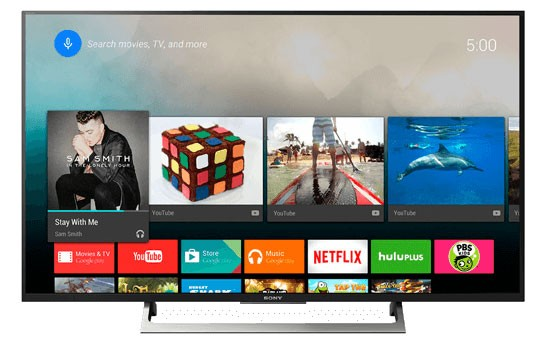 Picture Android Tivi Sony 43 inch KD-43X8000E 4K