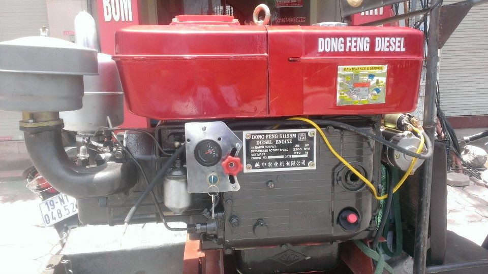Dau no diesel dongphong, dong co diesel dongfeng gia re